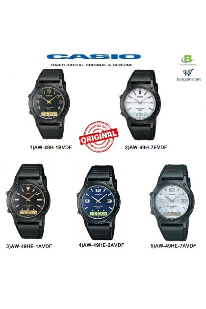 Casio AW-49H / AW-49HE Series Original & Genuine Watch
